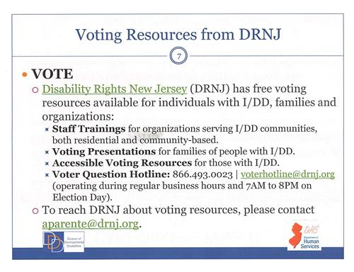 DRNJ - voting resource