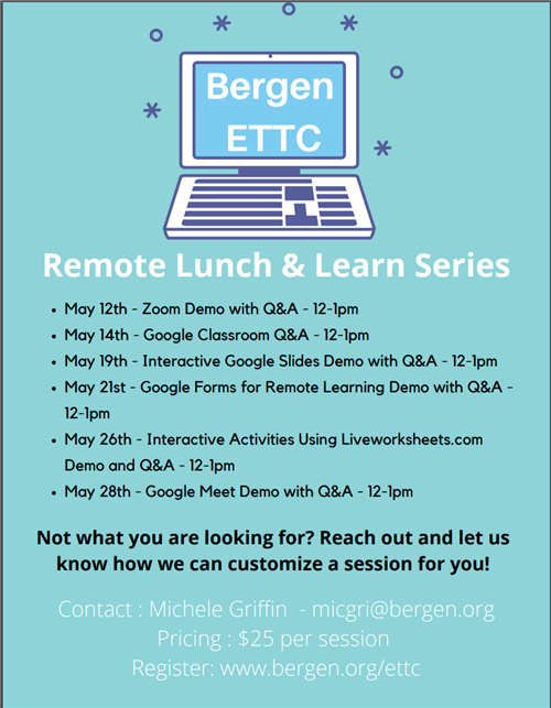 Remote Lunch and Learn Flyer