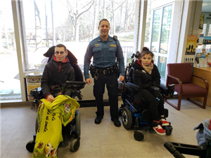Visit to Paramus Police Department