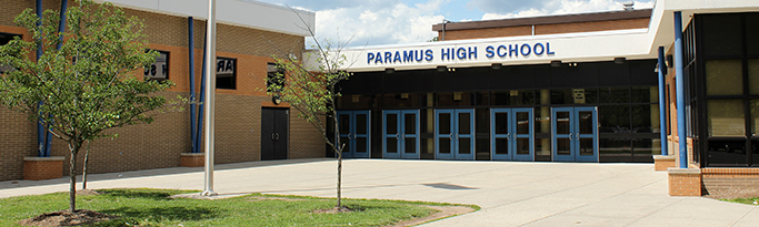 Our new home in Paramus High School