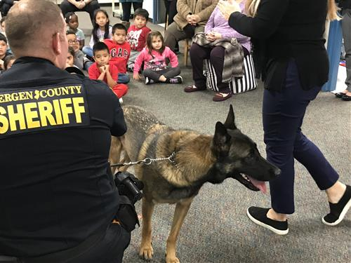 Visit from K-9 Unit