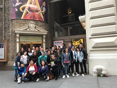 Students at SHIP-Midland Park were treated to a lovely performance of Anastasia on Broadway